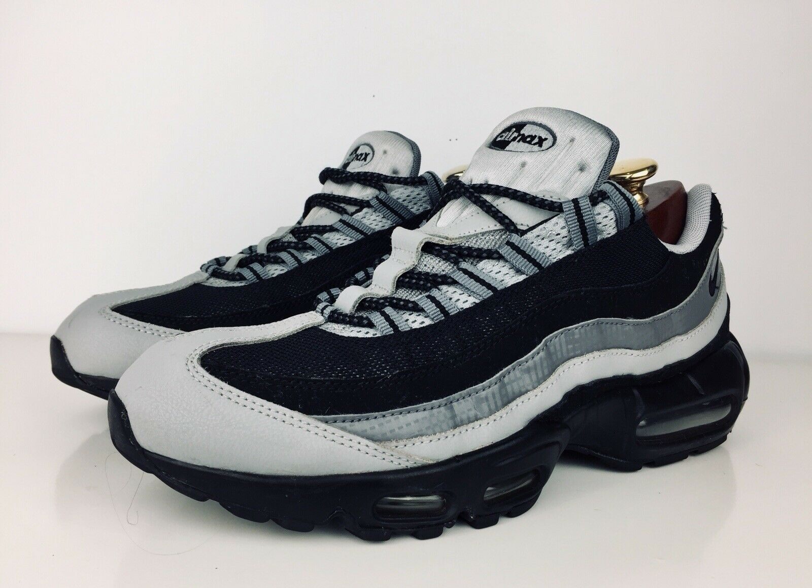 Details about Mens Size 11 Nike Air Max 95 Black Wolf Grey Anthracite 749766 005 .. NICE!