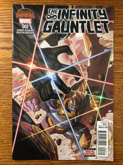Infinity Gauntlet 2 August 2015 Marvel Ebay