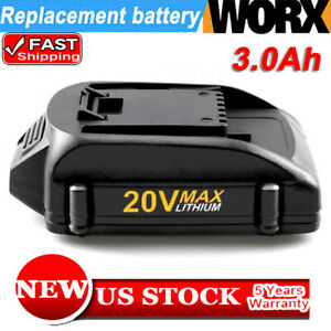 WA3525-20-Volt-3-0Ah-Replacement-for-Worx-20V-Lithium-Battery-WA3520-WG151s-Pack