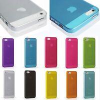 Ultra Slim Transparent Matte Hard Plastic Back Case Cover Skin For iPhone 5S 5