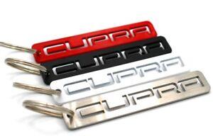 CUPRA-Schluesselanhaenger-Edelstahl-Seat-Leon-5F-1P-ST-FR-Ateca-Ibiza