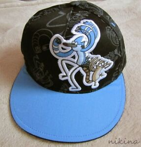 Details about REGULAR SHOW  Mordecai   Rigby  Blk Skater Baseball Hat Cap  Kids Youth sz 98a132e246c