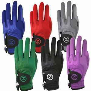 Zero-Friction-Cabretta-Leather-Elite-Mens-Golf-Gloves-One-Size-LH-Pick-Color