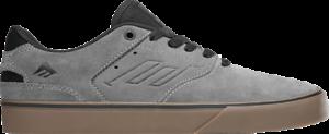 Emerica Mens The Reynolds Low Vulc Gre//Black//Gum Skate Shoes