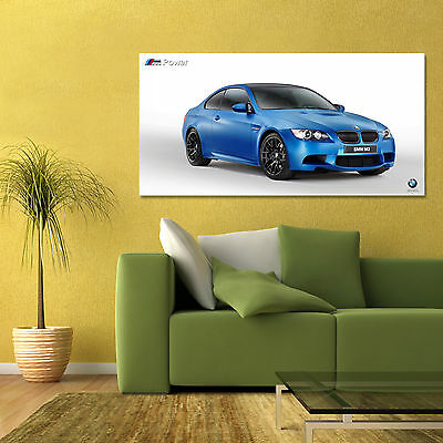 BMW M3 FROZEN EDITION 3 SERIES E90 E92 LARGE HIGH DEFINITION POSTER 24x48in