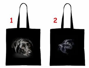 LABRADOR Hund dog Einkaufstasche Tasche shopping bag groß big schwarz wählen LB1