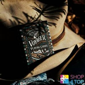 VOYAGER-THEORY-11-PREMIUM-PLAYING-CARDS-DECK-MAGIC-TRICKS-GOLD-SEALED-NEW