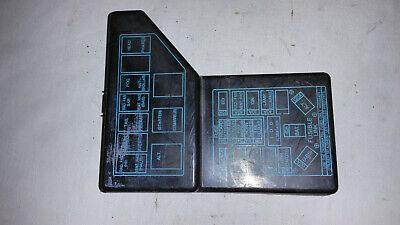 Mitsubishi 3000GT Engine Bay Fuse Box Cover | eBay