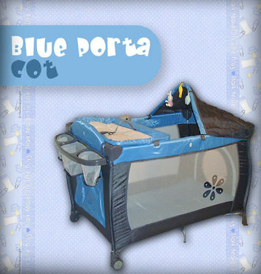 PORTACOT 7 IN 1 BABY TRAVEL PORTACOT PLAYPEN COT 2012 TRAVEL COT  BASSINET *NEW
