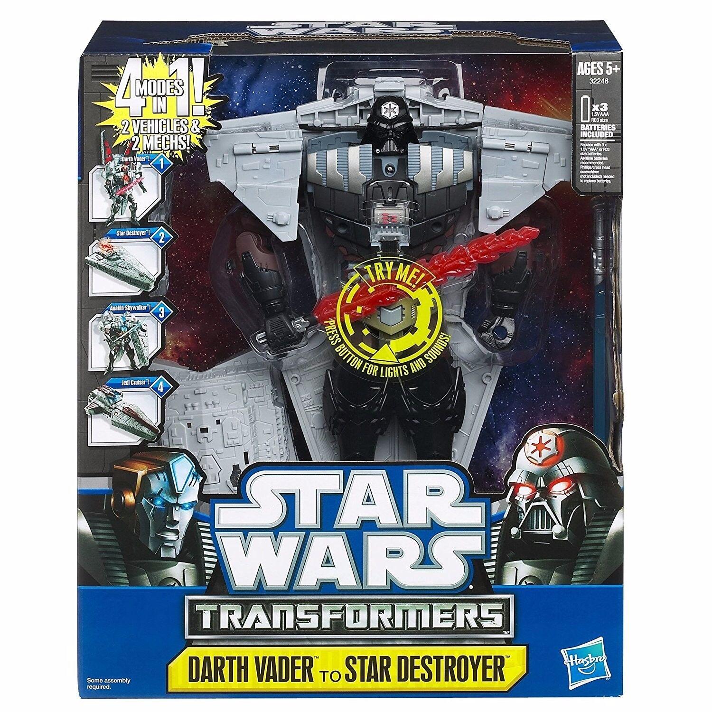 Star - wars - transformatoren klasse iii darth vader - zerstörer