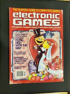 3-Electronic-Games-Magazines-1983-Retro-gaming-Arcade-Videogames-Home-Systems
