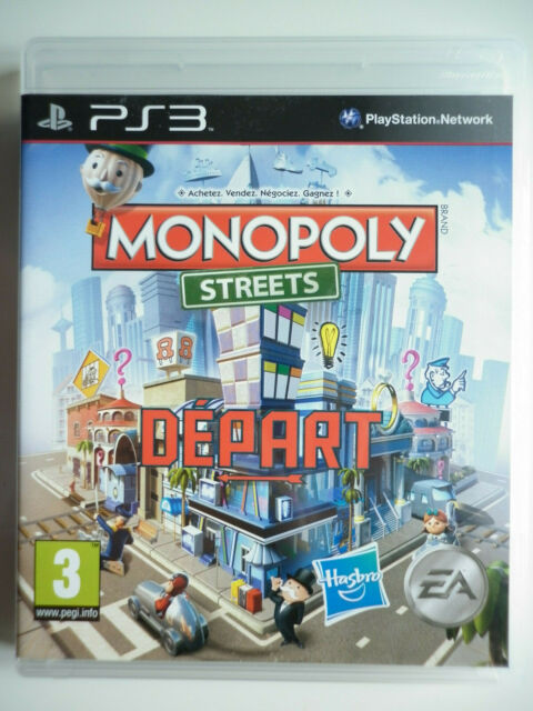 """Monopoly street Jeu Vidéo """"PS3"""" Playstation 3"""