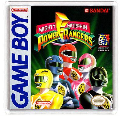 MIGHTY MORPHIN POWER RANGERS NINTENDO GAME BOY FRIDGE MAGNET IMAN NEVERA
