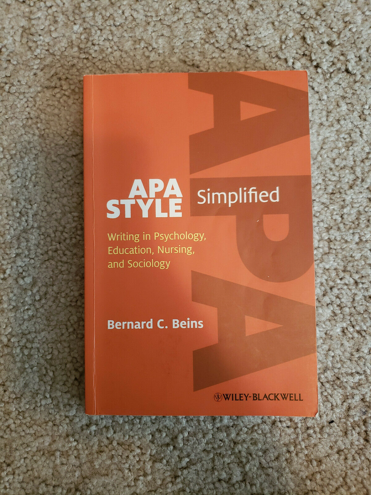 APA Style Simplified : Writing in Psychology, Education, Nursing, and Sociology 6
