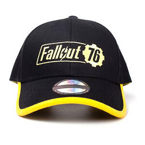 One Size Unisex Vault 76 Embroidered Logo Bobble Beanie Fallout 76
