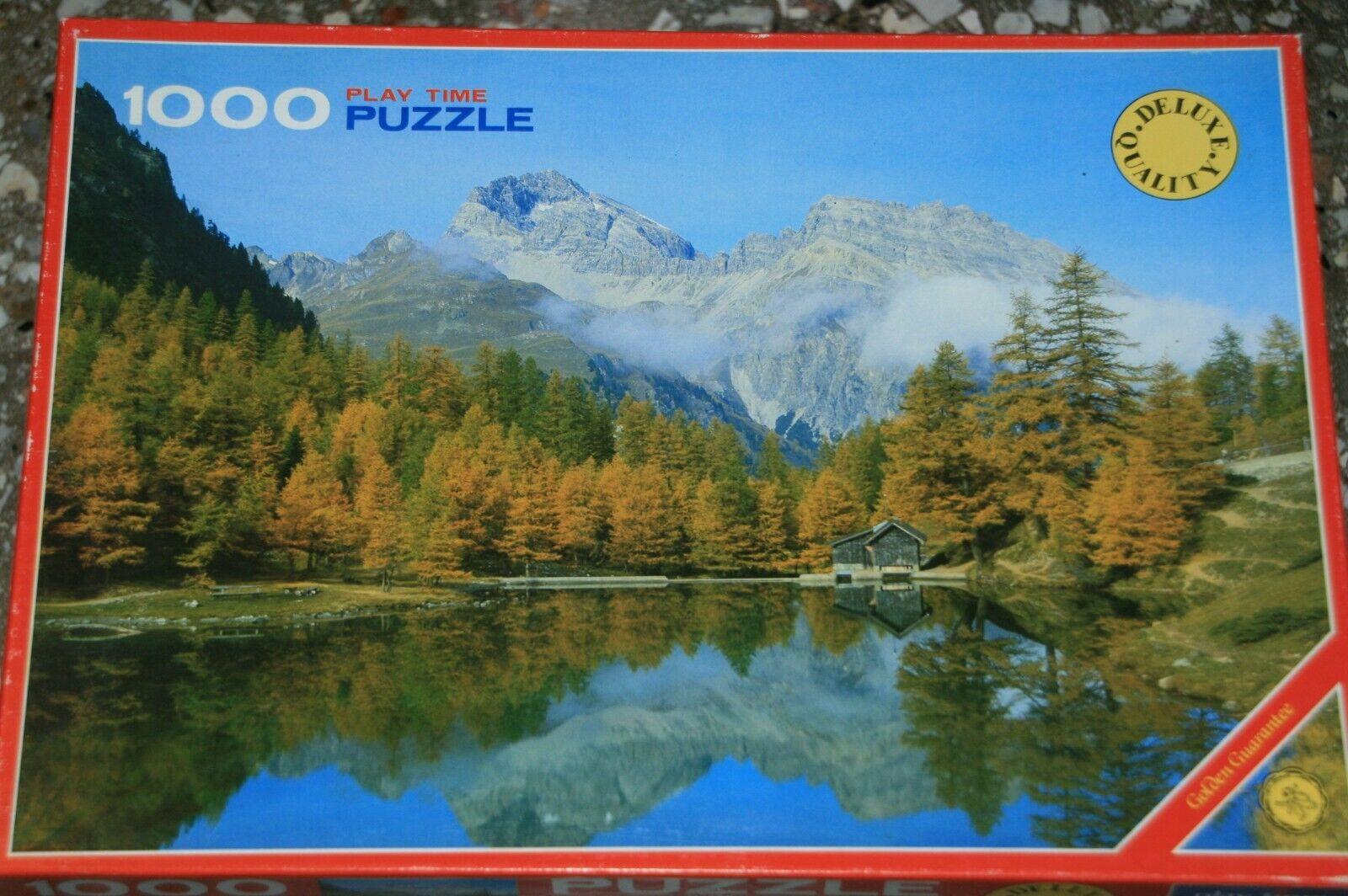 Puzzle 1000 Teile  Lake Az  v. Play Time  TOP