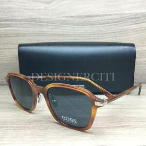 51edb5f8889 Hugo Boss 0909 S 0909 Sunglasses Light Havana 0569A Authentic 51mm ...