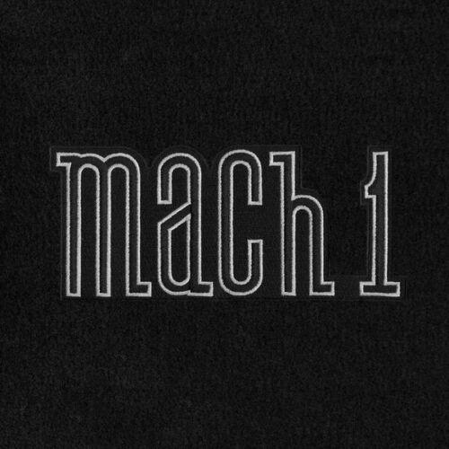 Lloyd Mats Mustang Heavy Plush™ 4 Pc Black or Red Floor Mats 1964-1973