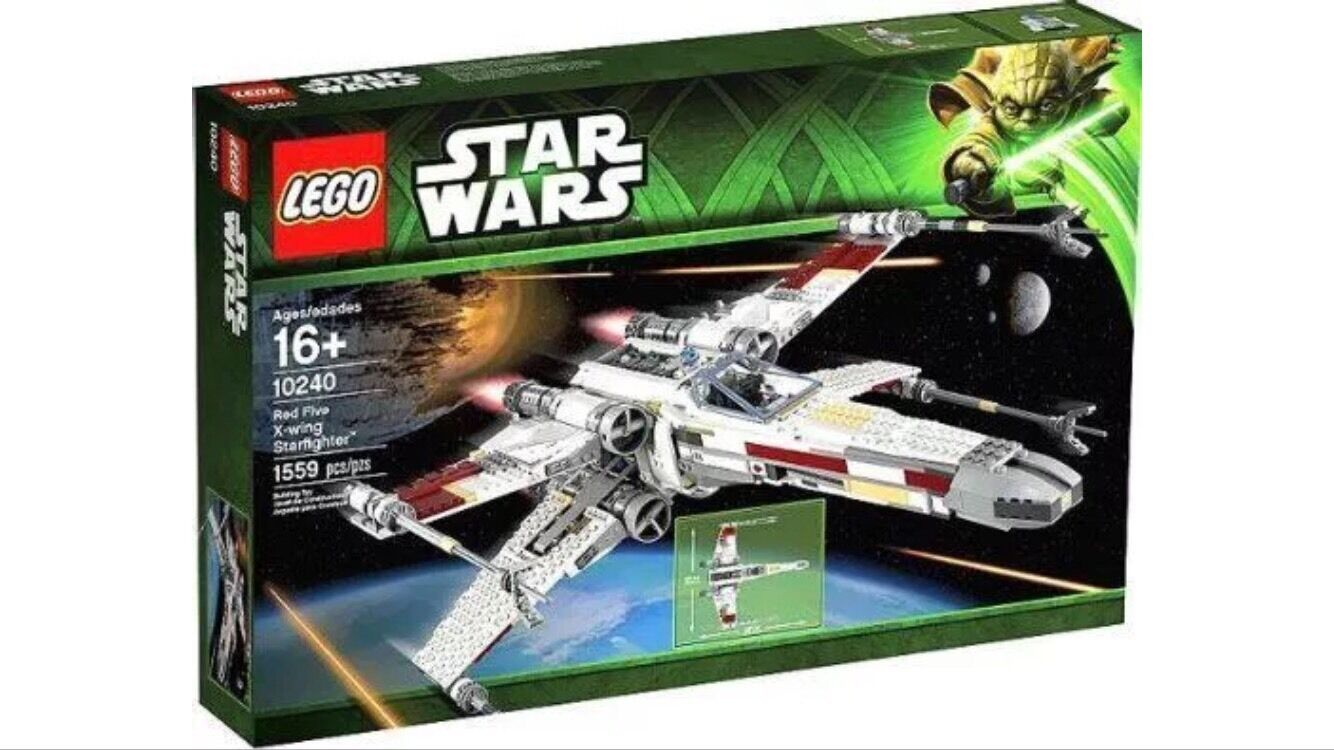 LEGO Star Wars 10240 Red Five X-Wing Starfighter New in Bow
