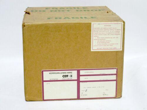 Litz Wire 7//41 33 AWG S.Nylon 155C 12TPF Kerrigan Lewis 3.3 LB 19866 FT New Roll