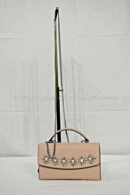 73321eaf6796 Michael Kors Ava JEWEL Large Phone Wallet/ Clutch/ Crossbody Bag in ...