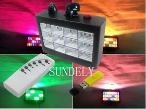 New-Remote-Control-MP3-Play-RGB-LED-Strobe-Light-Dj-Stage-Flash-Disco-Party-KTV