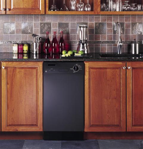 Ge Emaker Gsm1800jbb 18 Inch Built In Dishwasher Black For Online Ebay