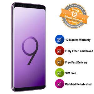 Samsung Galaxy S9 SM-G960F 64GB SIM Free Smartphone in Lilac Purple ... a3d704ead7b8d