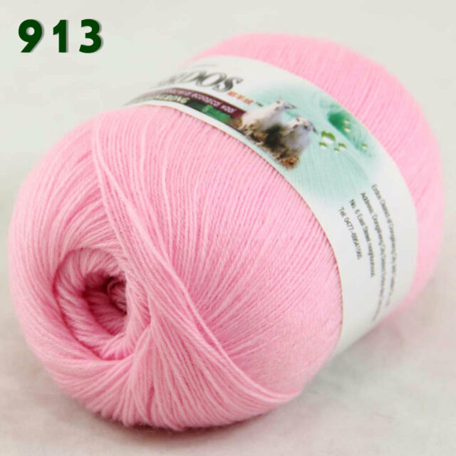 Sale 1 Skein x50gr LACE Soft Crochet Acrylic Wool Cashmere hand knitting Yarn 13