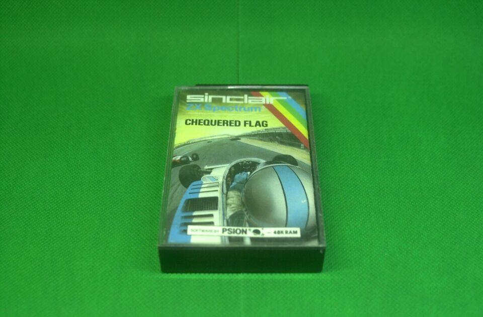 Chequered Flag, ZX Spectrum 48K