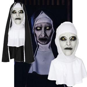 The Nun Cosplay Mask Costume Prop Helmet Valak Halloween Scary