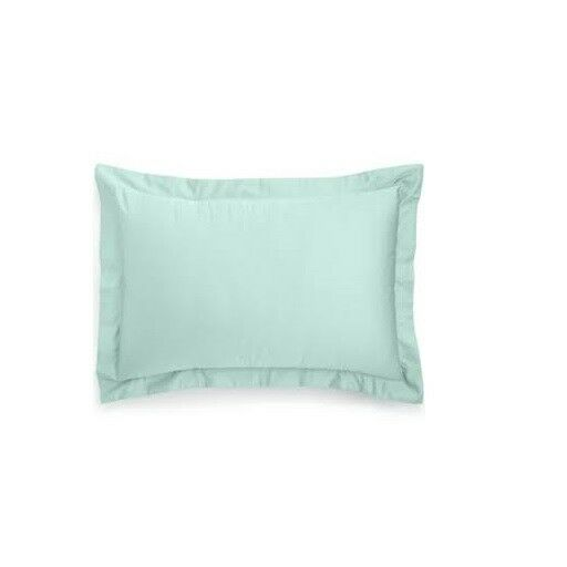Charter Club Damask Standard Sham, 500 Thread Count 100% Pima Cotton, Green