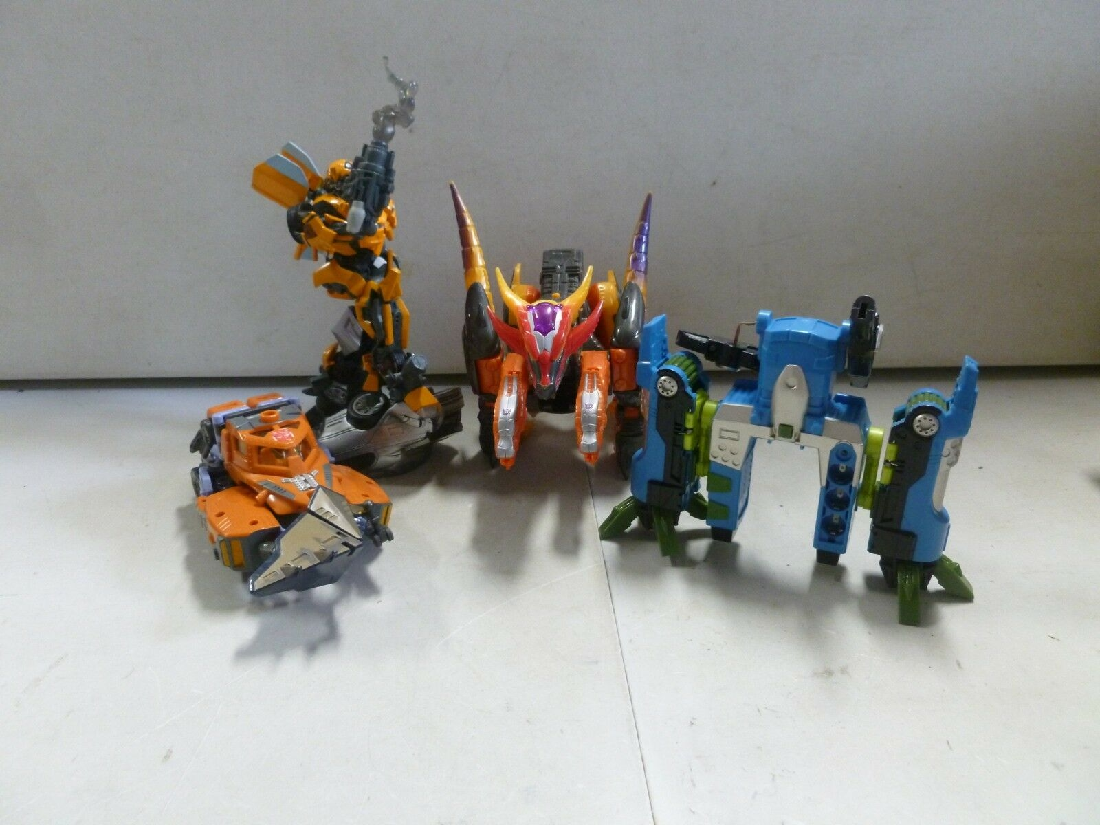 Lot of 4 Transformers with Bumblebee