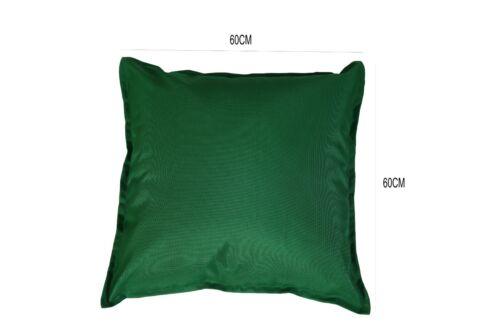 60 x 60 cm Waterproof Garden Cushion Covers Outdoor Indoor Use 45 x 45 cm