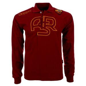 AS ROM Polo Shirt Hemd KAPPA für Kinder/Kids 116-176 NEU Fan Roma Italia 1927