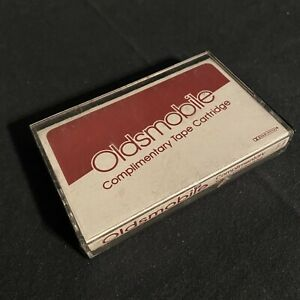 Oldsmobile-Complimentary-Cassette-Tape-1983-Neil-Diamond-Toto-Streisand-Willie