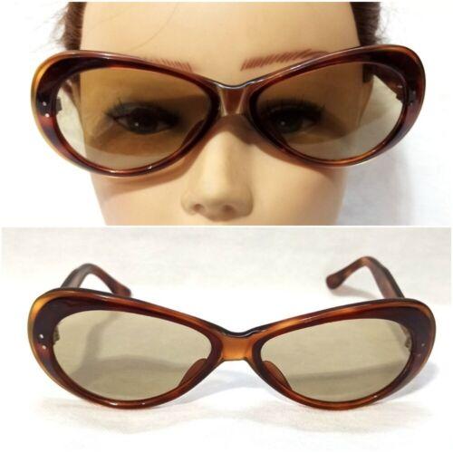 Vintage Cat Eye Sunglasses Cats Frame France 1950s