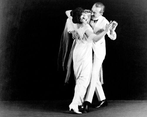 DANCERS VERNON AND IRENE CASTLE 8X10 PHOTO 1910-1918