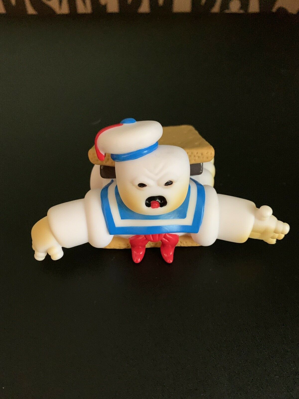 """Stay Puft Marshmallow Man By Brad Hill Soft Vinyl Toy """"S'more Puft  Peeks BNG"""
