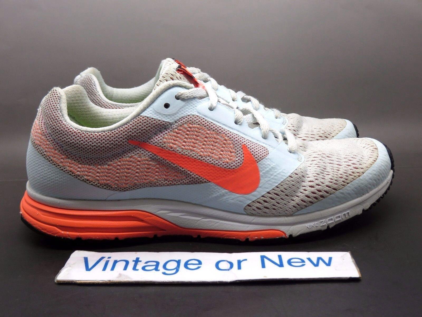 Women's Nike Air Zoom Fly 2 Blue Tint Orange Atomic Pink 707607-408 Price reduction Seasonal clearance sale