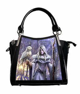 Handbag Pvc asch Lenticolare Invernale anne stoke World Gufo Of 3d 57 in IfORP