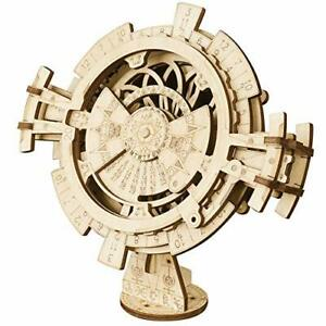 Robotime-Maquetas-De-Calendario-Perpetuo-modelo-de-corte-laser-mecanico