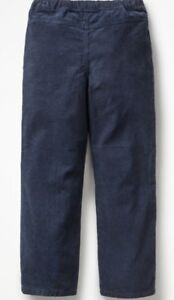 MINI-BODEN-CORD-PULL-ON-PANTS-Navy-Blue-Size3Y-17A2