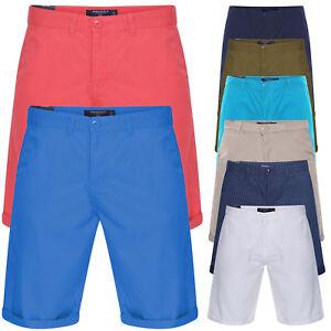 Pantalon-Corto-Chino-Algodon-Verano-Informales-Para-hombres-Jeans-Pantalones-Cargo-Combate-Medio