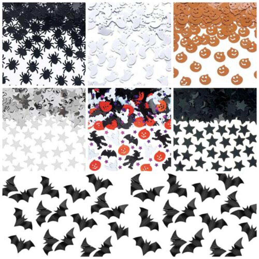 15g Spider Bat Cat  Acrylic Confetti Halloween Party Decor Sprinkle Sequins