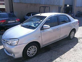 2014 Toyota Etios 1.5 Xs Sedan, Silver with 68000km available now!