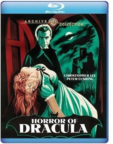 Blu Ray HORROR OF DRACULA. Christopher Lee Hammer horror. Region free. New.