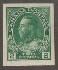 CANADA-1924-137-King-George-V-034-Admiral-034-Imperforate-Issue-VF-MNH