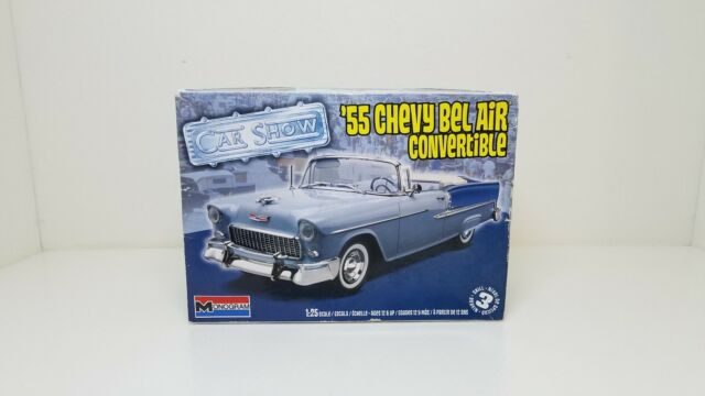 AMT 1//25 55 Chevy Sedan Resin Cast Pro Street Chassis