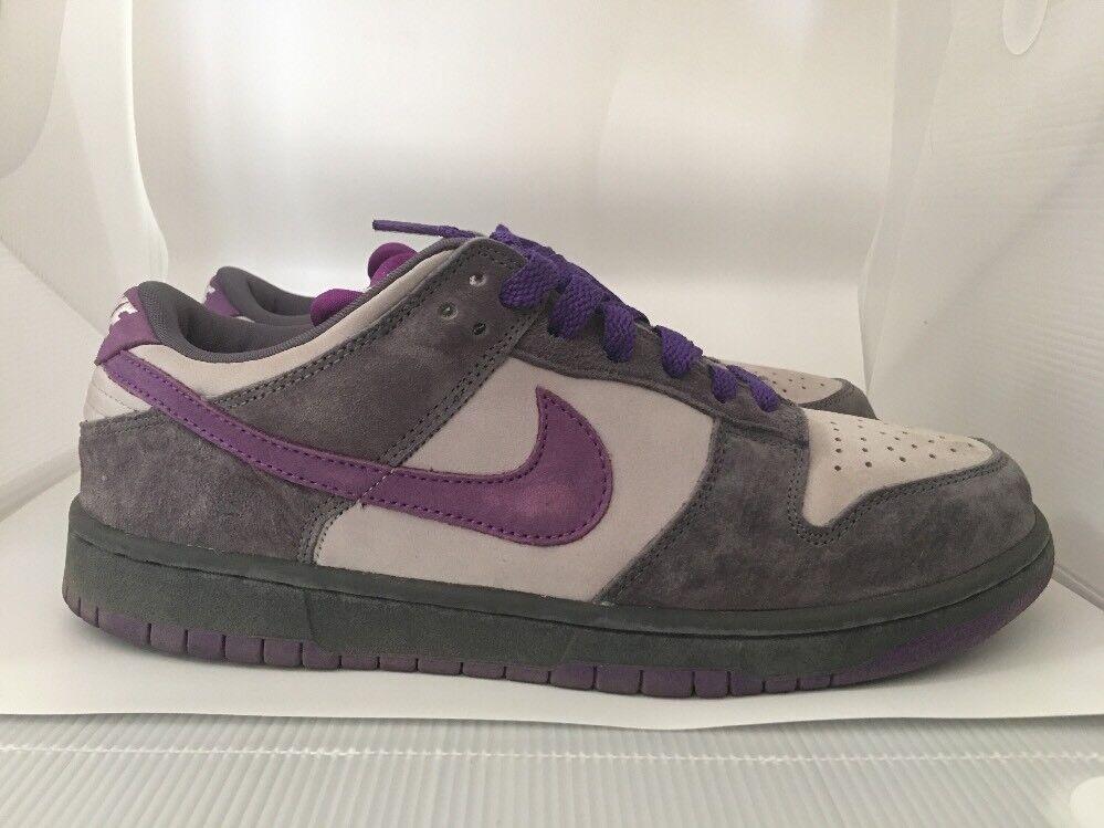 2006 Nike Dunk Low Pro SB SZ 9.5 Purple Pigeon OG Graphite Violet 304292-051